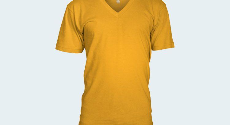 V-Neck-T-Shirt